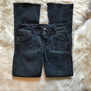Kut from the Kloth Double Button Bootcut- Size 6